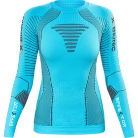X-Bionic Running Effektor Power Shirt LS Women tturquoise/anthracite